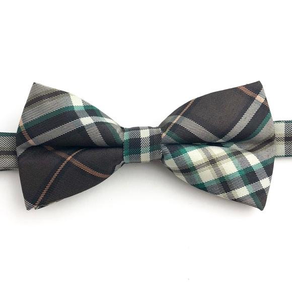 d81503d4bbf2 Groomsland Accessories | Mens Tartan Plaid Brown Bow Tie | Poshmark
